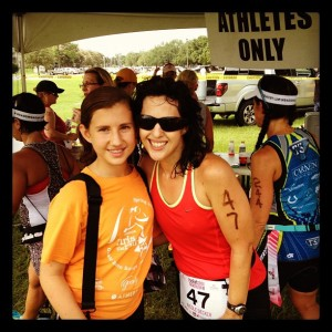 I had the BEST race support ever!