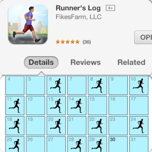 Runners log